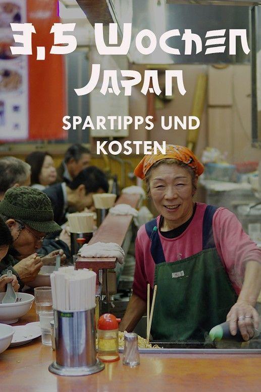 Japan Kosten – So viel zahlt ihr für 3 1/2 Wochen in Japan
