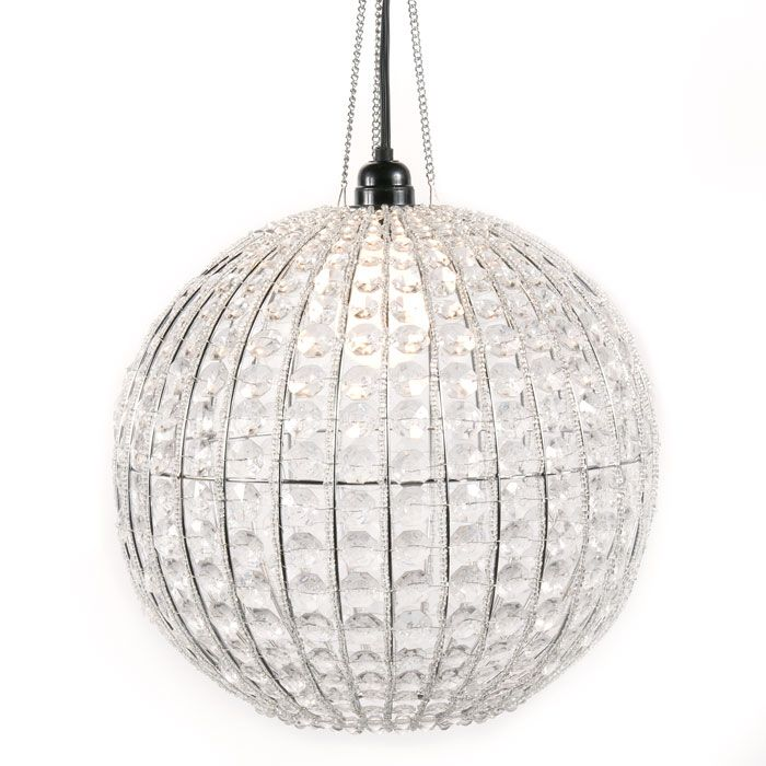 COCOCOZY: CHEAP TO CHIC: ROUND LIGHTS AND CRYSTAL BALL CHANDELIERS!