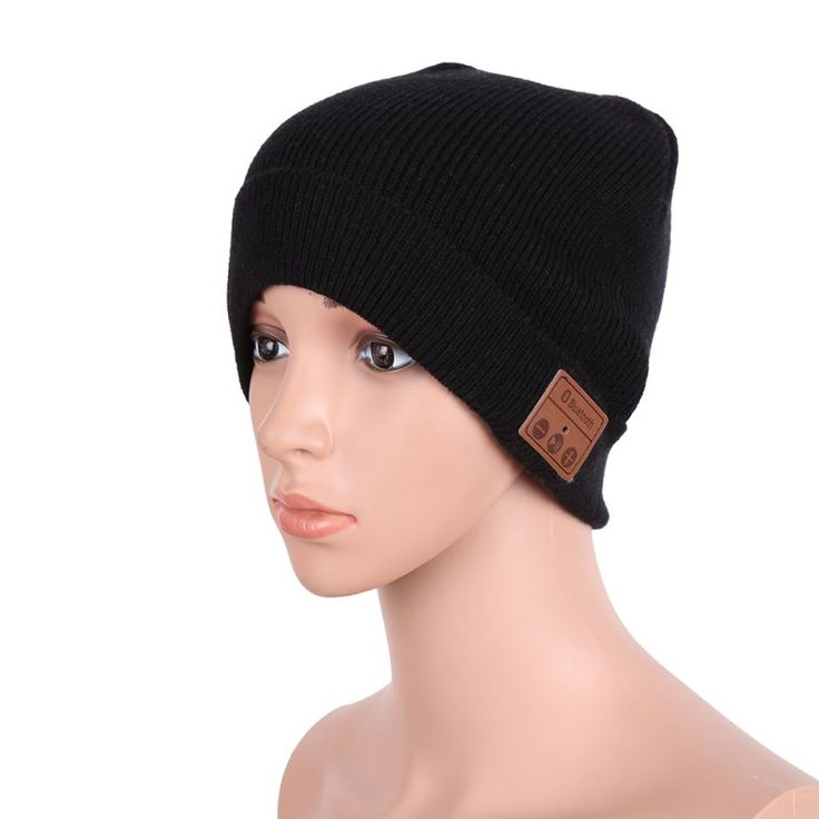 Winter Soft Warm Beanie Hat Wireless Bluetooth V3.0 Smart Cap Headset Headphone Speaker Mic Bluetooth Hat