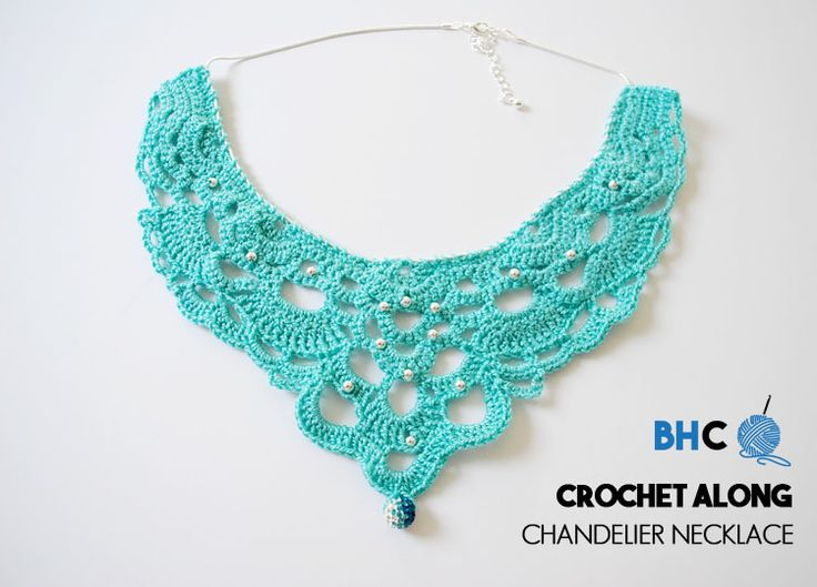 13 best collares en crochet images on Pinterest | Collar de ...