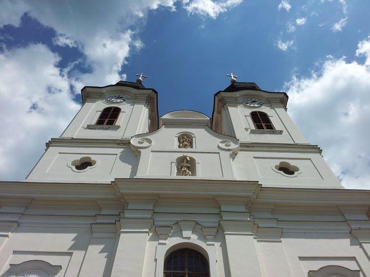 The Tihany Abbey/A Tihanyi Apátság tornyai - Tihany, Hungary