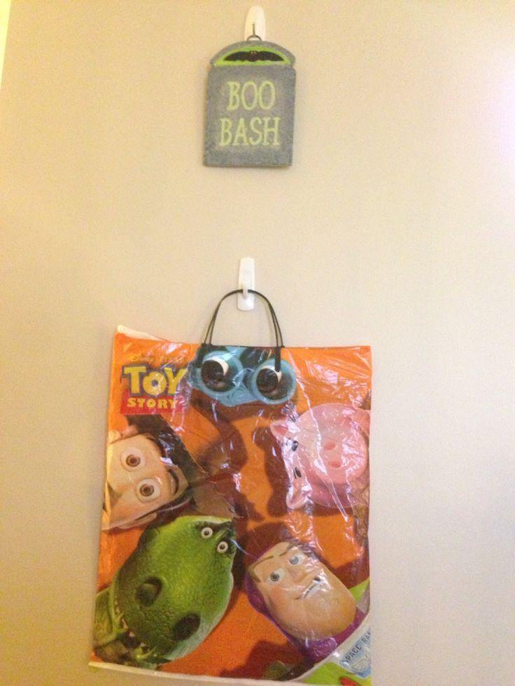 Living Room Wall Halloween 2015