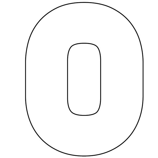 number 1 template preschool math pinterest template number