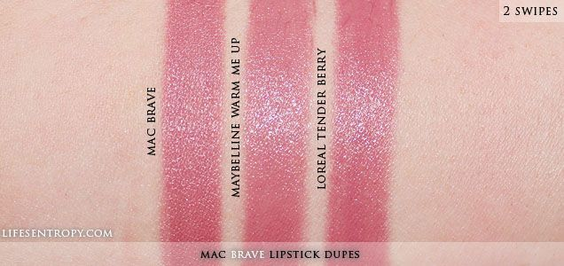 dupe+mac+fanfare | ... Reviews, Swatches, and Lifestyle Blog: DUPE | MAC Brave Lipstick