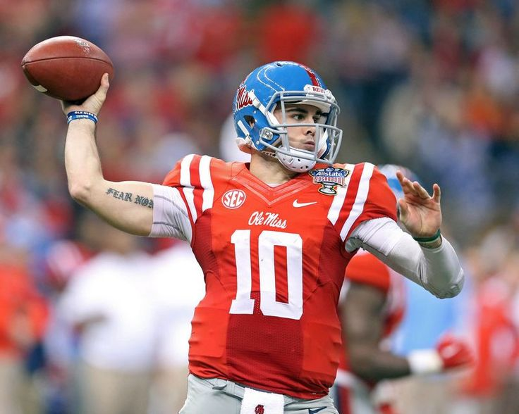 Chad Kelly Misssissippi (Ole Miss) Rebels Photo #1 (Choose Size)