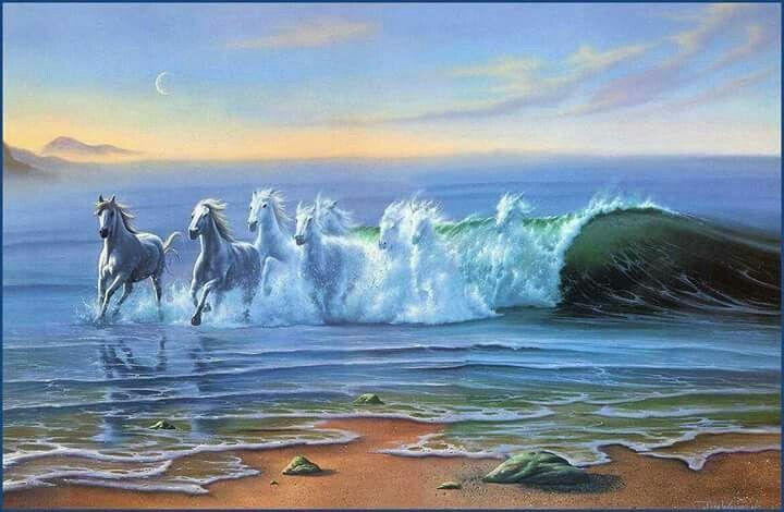 جيتك جيتك يابحر اشكي ومديت لي ذراعك لقيتك يابحر تبكي من لوعة فراقك جيت لك هارب ابي منك تواسيني تشيل احزان من قلبي من عيوني Horse Wallpaper Wild Waters Fine Art