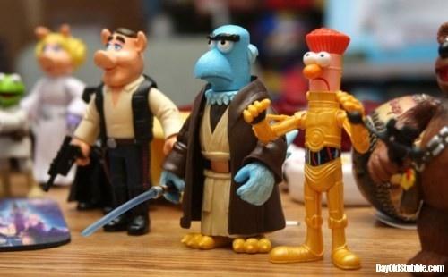 Sam the Eagle as Obi-Wan?  Pure genius.