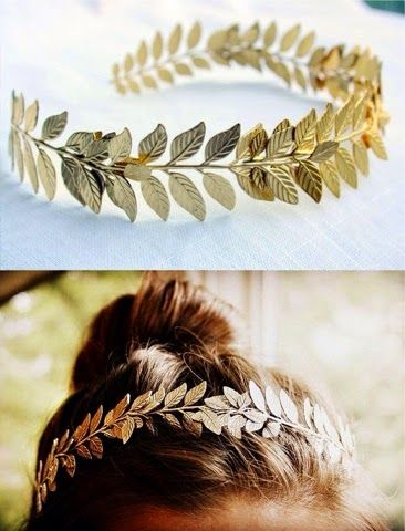 How to Chic: MOST WANTED - GOLD FLOWER CROWN - THE TREND