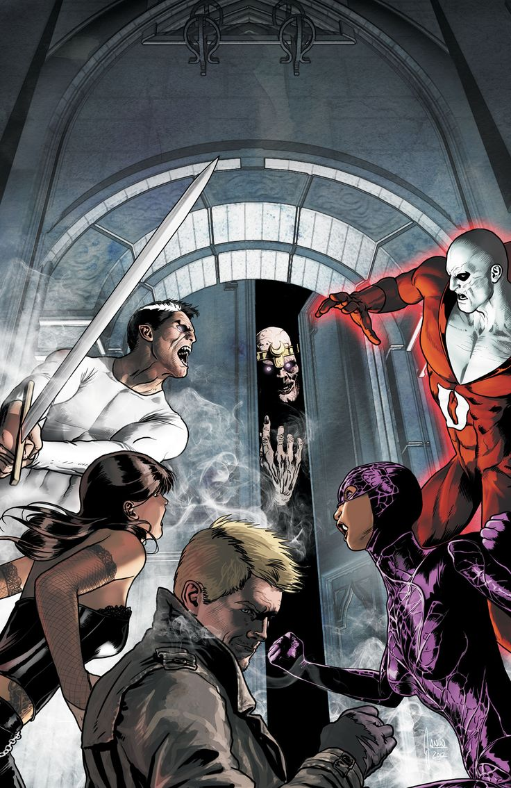 JUSTICE LEAGUE DARK #10 - Featuring John Constantine , Zatanna , Deadman, Andrew Benet, Madame Xanadu, Black Orchid and Dr. Mist!  In part two of JEFF LEMIRE'S first story the team sets up shop in their new HQ, the HOUSE OF MYSTERY – but first, they'll have to survive an attack by THE DEMONS THREE!