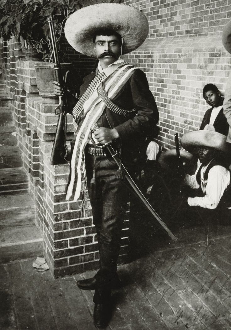 Emiliano Zapata Salazar was a leading figure in the Mexican Revolution.