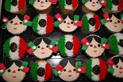 Ideas de cupcakes para estas fiestas patrias | Me lo dijo Lola
