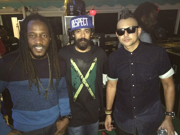 Wayne Marshall, Damian Marley and Sean Paul.