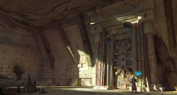 ArtStation - Temple keeper, Hugo Puzzuoli