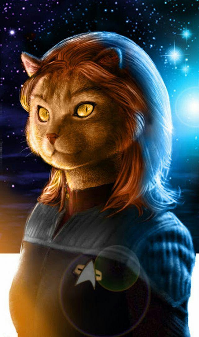 Lt. M'Ress - USS Enterprise (Star Trek: The Animated Series) & USS Trident  (Star Trek: New Frontier)