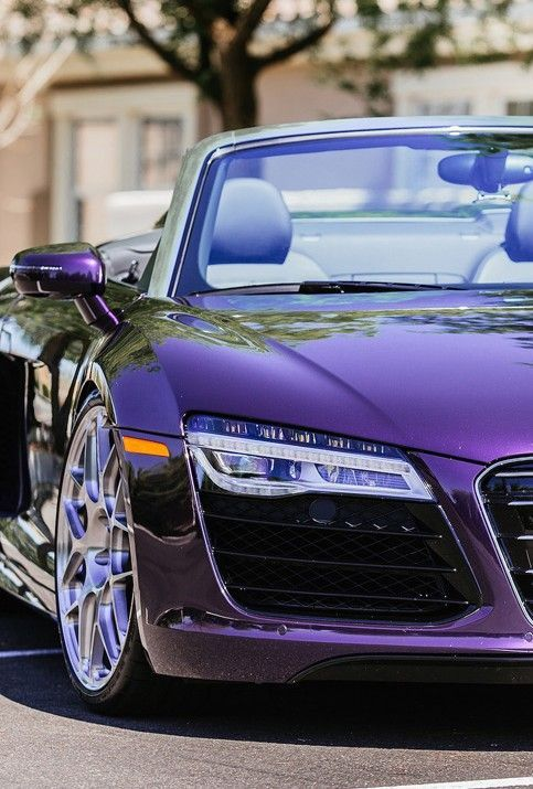 Never thought I would love a purple car…zoom zoom – Auuuddii♡♡♡