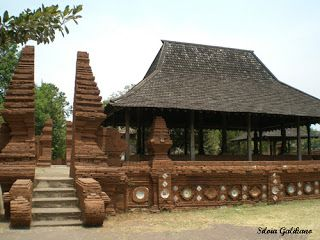 Kasepuhan house - Traditional House in West Java