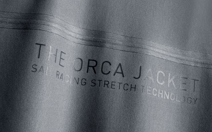 """The Orca Jacket is the cornerstone in the new 50 KTS Race Edition. This heavy weather jacket is specially developed for high-pulse speed sailing. It is constructed of waterproof and windproof GORE-TEX fabric with a all-way stretch functionality. This provides the best fit and flexibility that is complemented by high tech features such as moulded areas, solid carbon fiber details and reinforcements in unique light weight, ultra-strong fabrics. <span class=""""material"""">gorete..."""