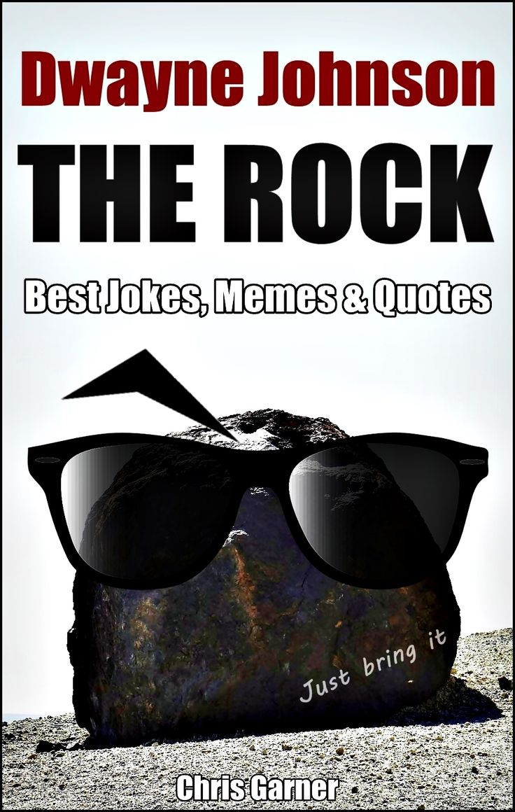 """Dwayne """"THE ROCK"""" Johnson: Best Memes, Jokes & Quotes in One Kindle.  This book goes out to millions – and millions of The Rock fans.  So support the jabroni beating, pie eating, trail blazing,  eye brow raising comedy book! ~ Chris Garner   """"Dwayne """"THE ROCK"""" Johnson: best memes, jokes and quotes in one""""  is a great choice for anyone with a sense of humor, especially a fan of  this WWE wrestler, movie star…"""