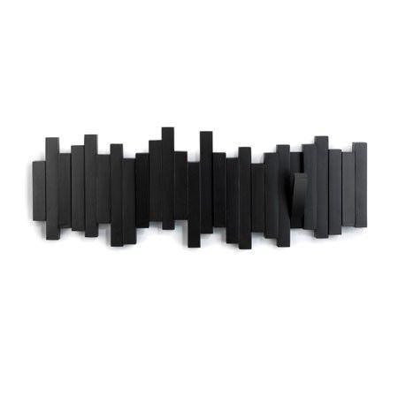 Sticks knagerække - sort