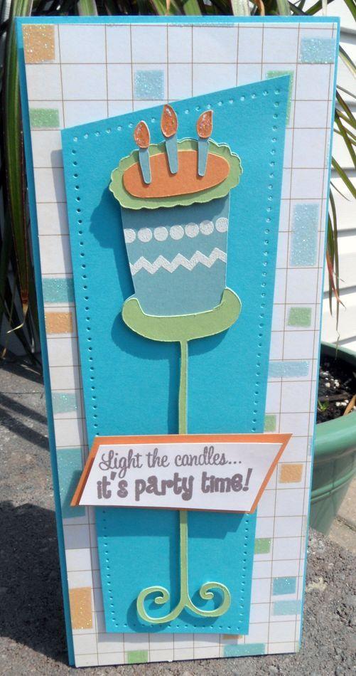 Cricut Cartridge Stretch Your Imagination Birthday Cake
