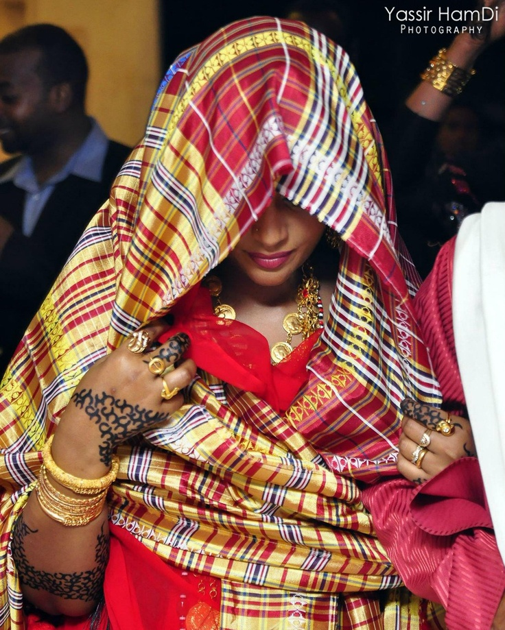 beautiful Sudanese bride :)