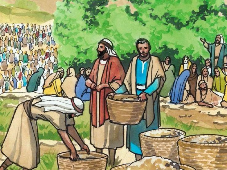Free visuals: Jesus Feeds the 4,000