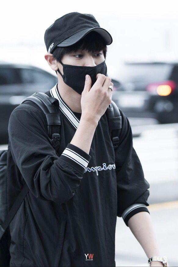Chanyeol | 150724 Incheon Airport departing for Osaka