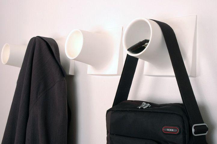 Cubby® Coat hook + storage unit