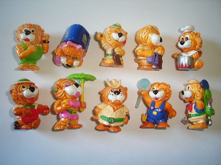 Kinder Surprise Set Leo Venturas Lions Adventure 1993 Figures Collectibles | eBay