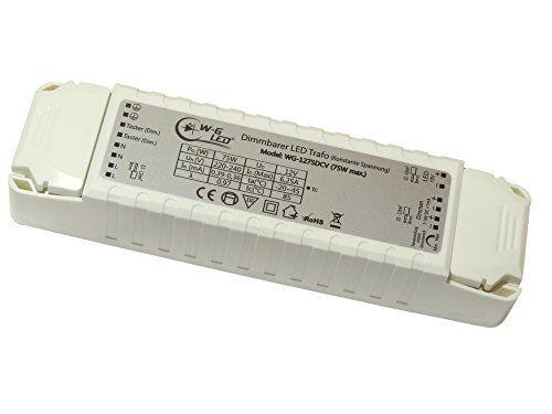 http://ift.tt/1mx07CQ Dimmbarer-LED-Trafo 12V-DC 75W max. (dimmbar per Taster & 1-10V)_Kein extra Dimmer nötig! @@phiini$$