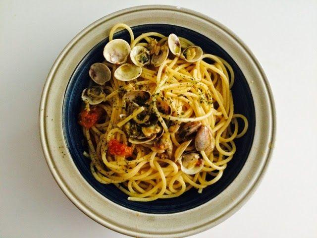 Comida Italiana ..por italianos: Spaghetti alle vongole (Con almejas)