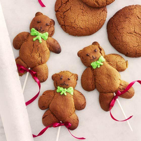 Krydrede bamsekager, jul, dansukker, juleri med børnene, kage, inspiration, opskrift, christmas