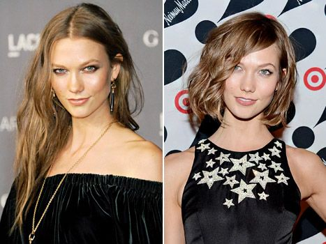 "The New York Times declared Karlie Kloss' chin-length do to be ""the haircut of the year."" Do you agree?"