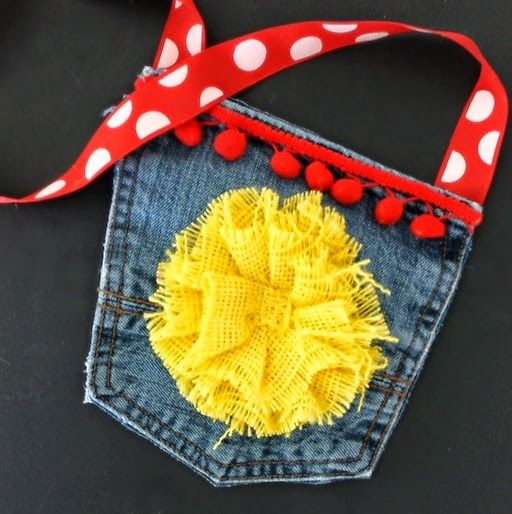 jean pocket purse...how to...