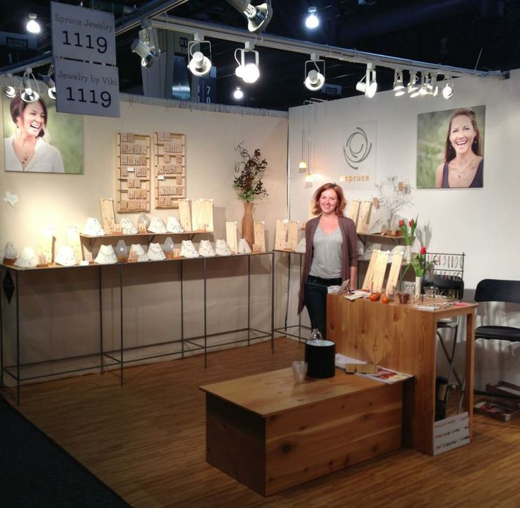 Jewelry Exhibition Booth Design : Spruce jewelry trade show booth and tell