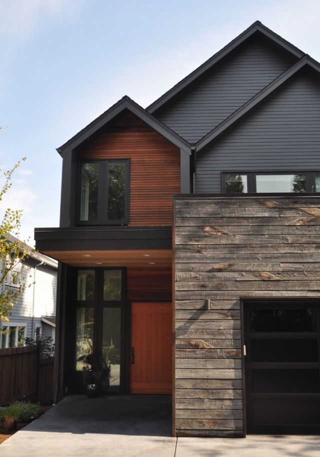 Modern House Exterior Design Ideas: Kendall Charcoal
