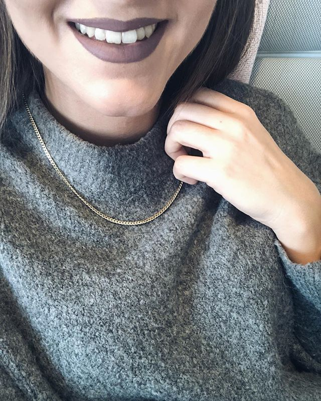 Gold chain...wear only this or combine with more necklaces to achieve the perfect necklace layering..by www.goldentiara.gr