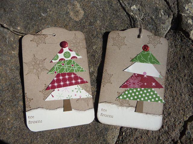 christmas tree triangles