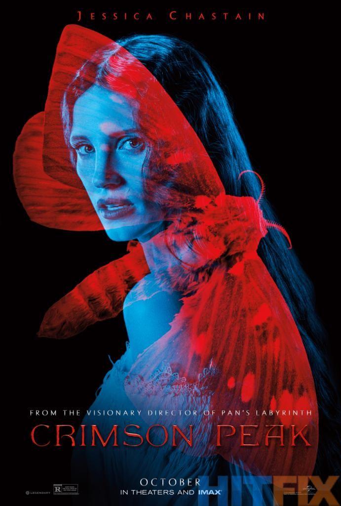 Том Хиддлстон, Миа Васиковска, Чарли Ханнэм и Джессика Честейн – в синих и красных цветах.