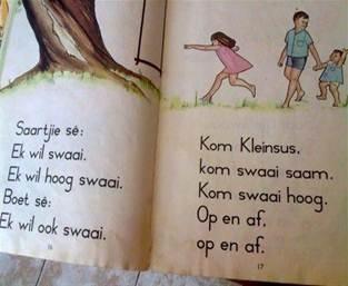 Boet en Saartjie, Goue Leesreeks, My eerste leesboek in Sub A! Kaapprovinsie