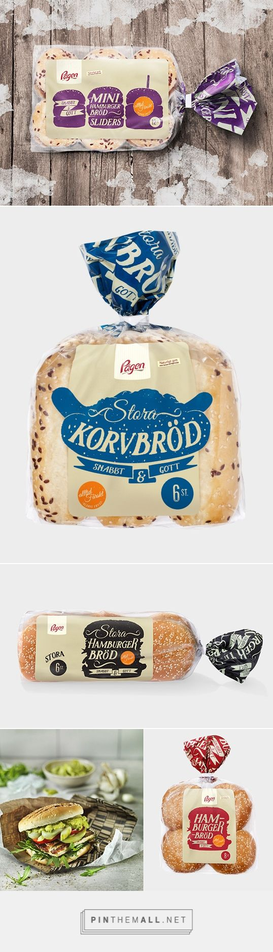 Pågen Bakery by DDB Göteborg. Pin curated by #SFields99 #packaging #design