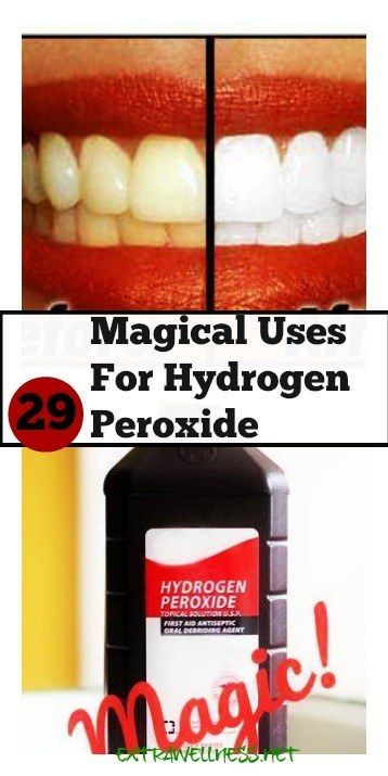 29 Extraordinary Everyday Uses for Hydrogen Peroxide - Lots of uses for hydrogen peroxide, but there are many I didn't know! Seriously You Must Check These Out..