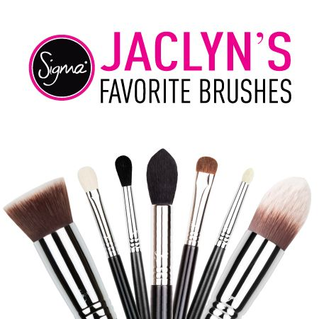 My Favorite/Must Have Sigma Brushes - Jaclyn Hill
