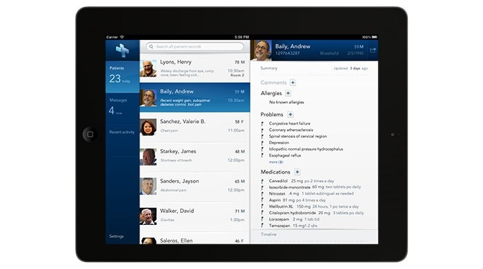 Practice Fusion iPad application | Cooper - USA | IxDA Interaction Awards  Best in Category: Optimizing