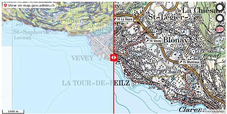 Vevey VD Geologie Boden http://ift.tt/2y0fBFc #infographic #mapOfSwitzerland