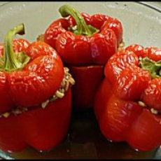 Best Basic Stuffed Peppers Recipe