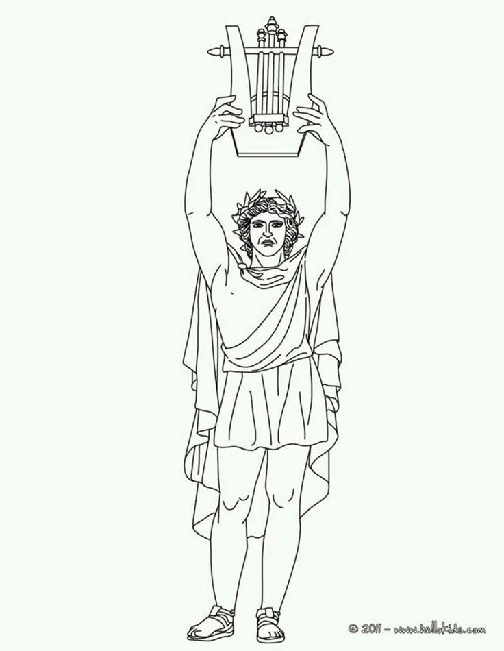 26 besten Greek God/dess\' Coloring Pages Bilder auf Pinterest ...