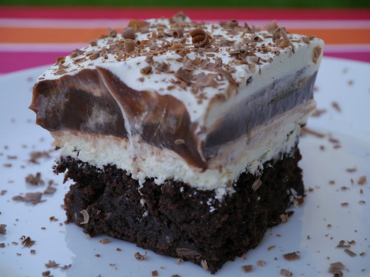 Brownie Pudding Cool Whip Dessert | recipes | Pinterest ... - photo#16