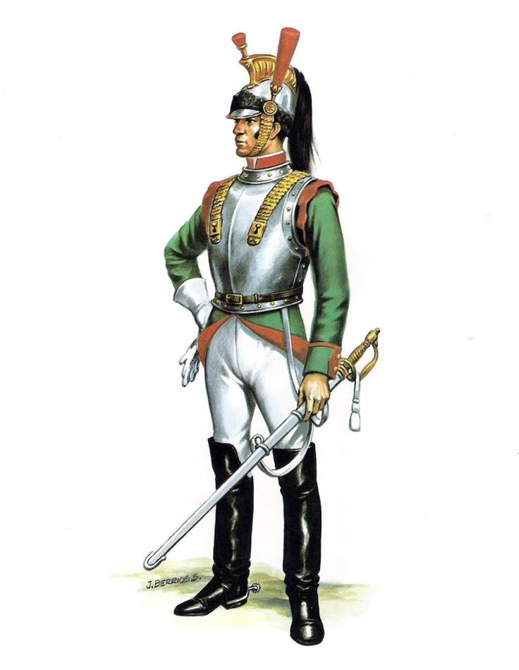 Soldado Escuadron Coraceros (1826)
