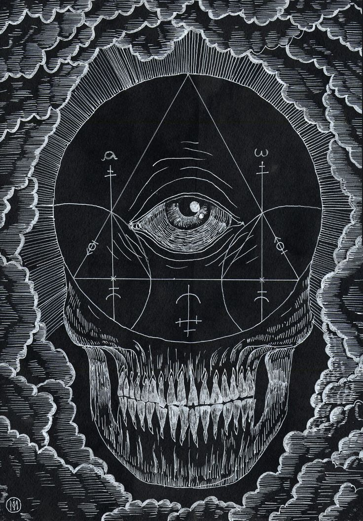 Symbols of black magic